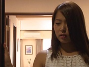 Appetizing Asian babe Tsuno Miho rammed hard