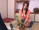 Ayumi Shinoda enjoys masturbating really good