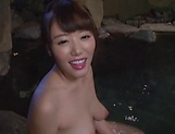 Busty milf gets dick in fantastic trio along another woman  picture 13