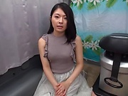 Cute Japanese babe ends up getting the real deal big time