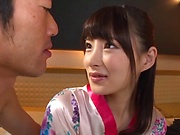 Hakii Haruka gets freaky in this kinky hardcore scene