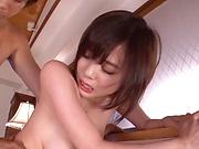 Hardcore session with sexy babe Aimi Yoshikawa