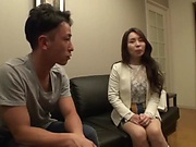 Japanese housewife likes hardcore sex
