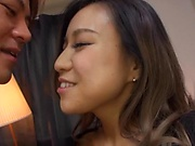 Sweet Japanese plays with a lot of inches on cam
