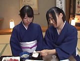 Japan babe hardcore action in group scenes