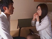 Yume Kana handles a schlong in a smooth rear fuck