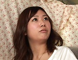 Sweet Japanese Hoshino Hibiki enjoys kinky toying picture 15