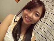 Hot Japanese vixen gets a worthy creampie