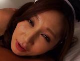 Sasaki Aki handles a stiff ramrod