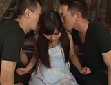 Erotic orgy delights sexy Kawasaki Arisa picture 4