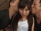 Erotic orgy delights sexy Kawasaki Arisa picture 6