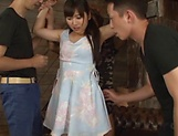Erotic orgy delights sexy Kawasaki Arisa picture 9