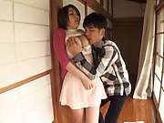 Japanese milf is fucking her ex partner