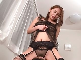 Foxy milf excels in her cock servicing skills