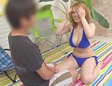 Mei Matsumoto gets nailed in her sexy bikini