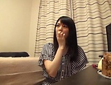 Japanese amateur wife gets kinky on her sex toys