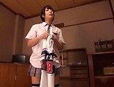 Japanese schoolgirl gets pusys toyed and mouth fucked rough picture 12