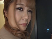 Tokyo babe strips naked and fucks while being filmed