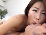Shinoda Ayumi gets kinky on a dick picture 13
