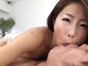 Shinoda Ayumi gets kinky on a dick