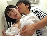Saitou Miyo gets her tight wet muff filled by a hard pole picture 14