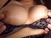 Amateur busty cutie in hardcore pussy pounding session