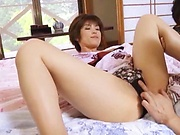 Busty milf showing her expertise in dick riding