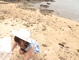 Sonoda Mion ,gets naughty in the beach