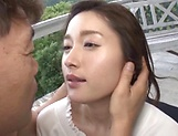 Tiny tits lady Uehara Mizuho loves giving a steamy head picture 12