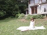 Sakura Hizuna enoys tasty dick in outdoor xxx scenes