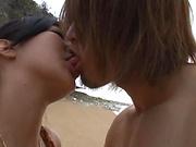 Mizuki Miri ,enjoys a sensual pussy licking
