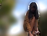 Beautiful Asian love Aoi Rena in a sensual outdoor tease picture 11