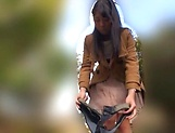 Beautiful Asian love Aoi Rena in a sensual outdoor tease picture 15