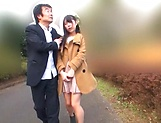 Beautiful Asian love Aoi Rena in a sensual outdoor tease
