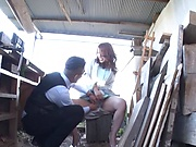 Hot Japanese seductress with a nice ass Mizuki Yume fucks outdoors