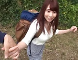 Pretty Hasegawa Rui loves her nice ass licked