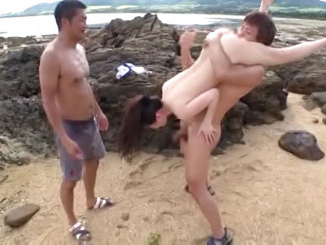 Kitano Nozomi ,performs a heavenly tit fuck