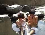 Outdoor romance with a sexy Japanese av model  picture 12