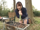 Sexy teen Hasegawa Rui in raunchy pov scene outdoors picture 15