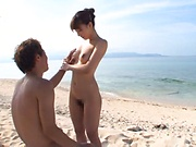 Ayami Shunka ,makes a dude cumshot