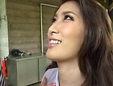 Cute Asian beauty loves eating hot hard cock