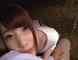 Cute Asian teen Hasegawa Rui ends up with cum