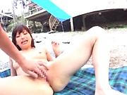 Kinky Milf gets her wet aging muff drilled deep