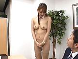 Amazing AV model Wakana Nao enjoys mmmf sex gets bukkaked