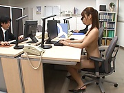 Amazing AV model Wakana Nao enjoys mmmf sex gets bukkaked