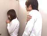 Superb Asian babe Ayami Shunka giving worthy head