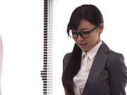 Office Japanese hardcore with Ayane Haruna