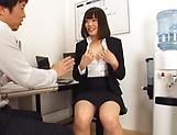 Raunchy hardcore fisting session involving spicy Suzuki Risa picture 14