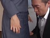Eri Itou in balck stockings gets a hardcore banging picture 10