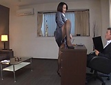 Eri Itou in balck stockings gets a hardcore banging picture 3